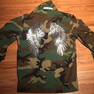 Heaven on earth Army Jacket